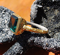 Emerald Ring Mel Fisher's Treasures